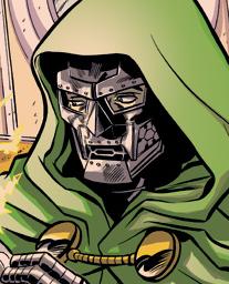 I am only a detail of the illustration. Link to Rich Ellis' sketch blog. Doom commands it!
