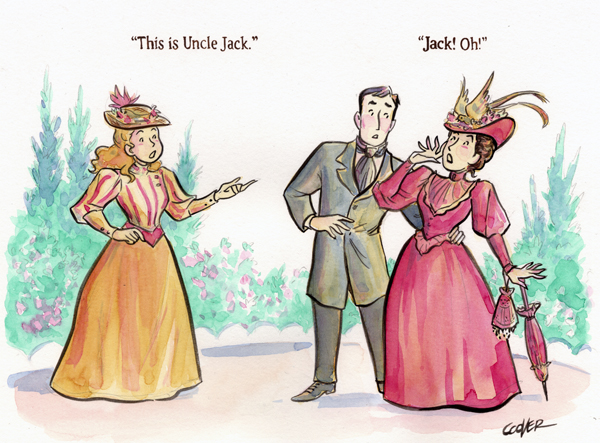 Cecily, Jack and Gwendolin