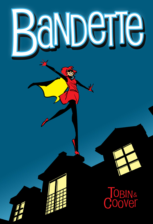 Bandette #3 cover art